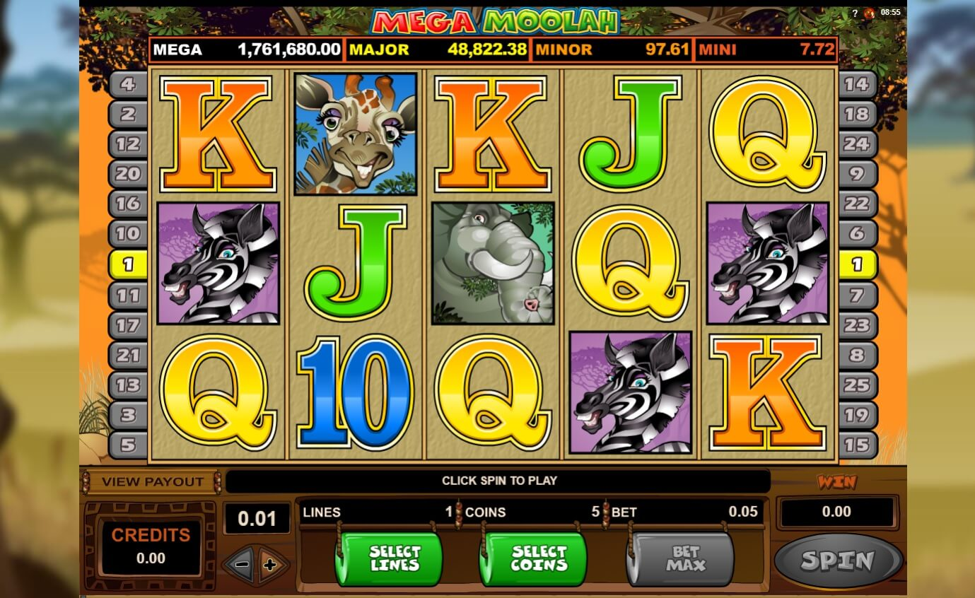 how to win mega moolah jackpot